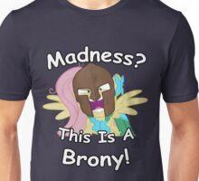 Fluttershy Spartan Borny Unisex T-Shirt