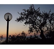 Sunset In Sorrento Photographic Print
