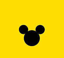 Mickey Mouse Yellow by chloeamber