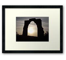 Dale Abbey Framed Print