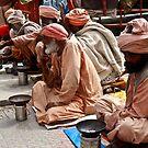 Beggars At Badrinath Shrine by gaurav0410