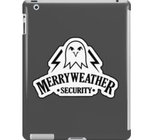 Merryweather Security Services iPad Case/Skin