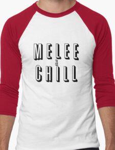 Melee & Chill Men's Baseball ¾ T-Shirt