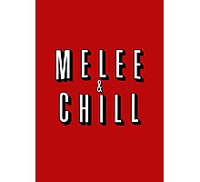 Melee & Chill Photographic Print