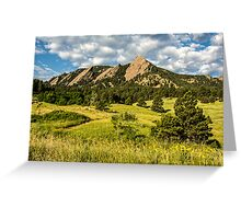 Delicious Vanilla Clouds On A Summer Chautauqua Morning Greeting Card