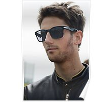 Romain Grosjean 2013 Poster