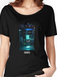 TARDIS Console Women's Relaxed Fit T-Shirt
