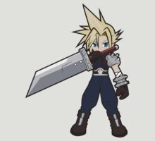 FF7 Cloud by StraightEK