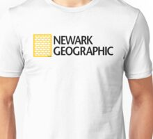 'Newark Geographic' (b) Unisex T-Shirt