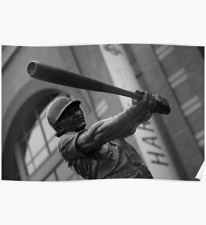 Baseball icon Poster