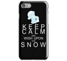 My Little Pony - Keep Calm and - Snowdrop iPhone Case/Skin