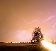 North Boulder County Colorado Lightning Strike by Bo Insogna