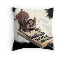 Material Conservation Jap Trap Throw Pillow
