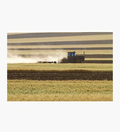 Working Farmer Photographic Print