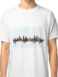 Denver Colorado Skyline Classic T-Shirt