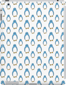 Blue Penguin by AwayLaughing