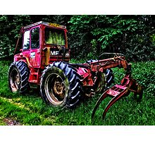 Tractor ! Photographic Print