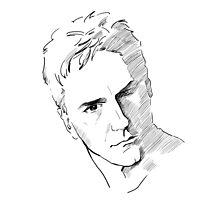 Jack O'Neil Stargate on white background by Vinchenko