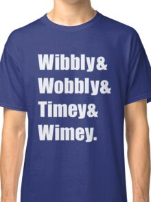 Wibbly Wobbly Ampersand Classic T-Shirt