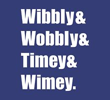 Wibbly Wobbly Ampersand Unisex T-Shirt