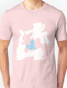 Pokemon - Squritle/Wartortle/Blastoise T-Shirt