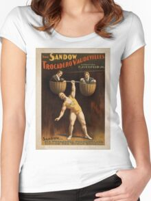 Vintage poster - Vaudeville Women's Fitted Scoop T-Shirt