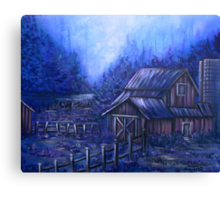 Once Upon A Barn Canvas Print