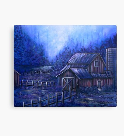 Once Upon A Barn Canvas Print