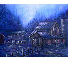 Once Upon A Barn Photographic Print