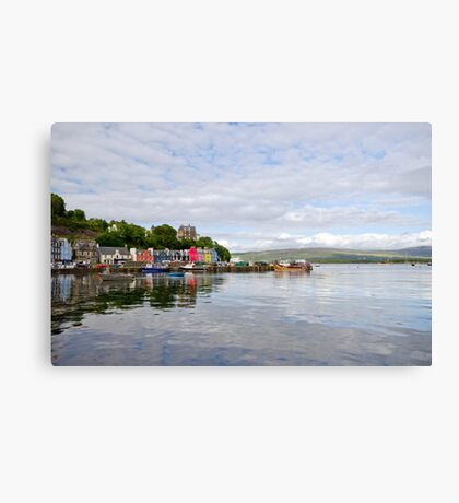 Tobermory,Isle of Mull Canvas Print