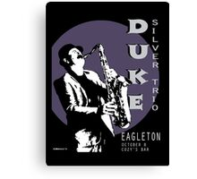 Duke Silver Live In Concert  Canvas Print