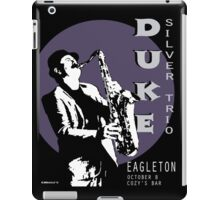 Duke Silver Live In Concert  iPad Case/Skin