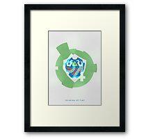 Time Traveler - 64 Series Framed Print