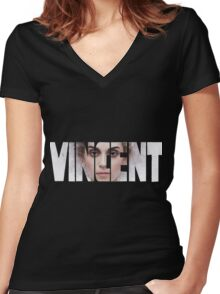 St. Vincent Women's Fitted V-Neck T-Shirt