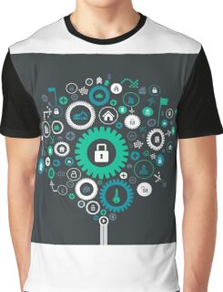 House gear wheel Graphic T-Shirt