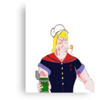 Brock the Sailor Man Canvas Print