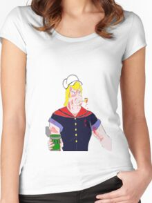 Brock the Sailor Man Women's Fitted Scoop T-Shirt