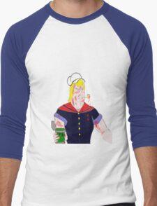 Brock the Sailor Man Men's Baseball ¾ T-Shirt