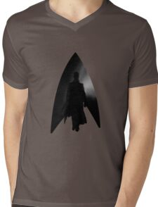 Alone. Mens V-Neck T-Shirt