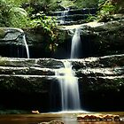 Terrace Falls, Blue Mountains World Heritage Area by Erland Howden