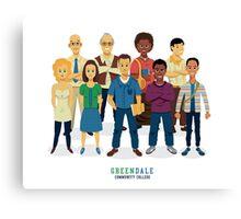 Greendale Canvas Print