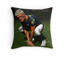 Gridiron - American Football - Bodypaint Throw Pillow
