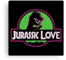 Jurassic Love Canvas Print