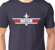 Custom Top Gun Style - Hatch Unisex T-Shirt