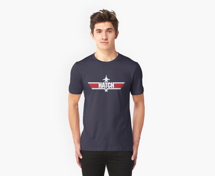 Custom Top Gun Style - Hatch by CallsignShirts