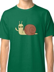 Adventure Time snail possessed Classic T-Shirt