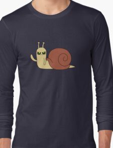 Adventure Time snail possessed Long Sleeve T-Shirt