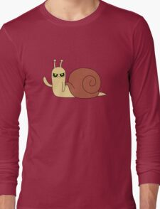 Adventure Time snail possessed Long Sleeve T-Shirt