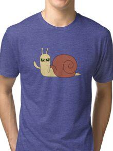 Adventure Time snail possessed Tri-blend T-Shirt