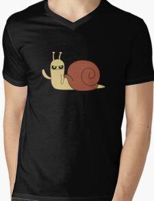 Adventure Time snail possessed Mens V-Neck T-Shirt